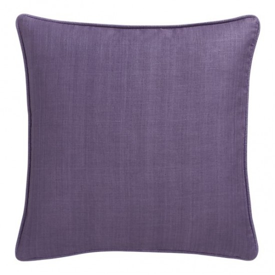 {Hayward pillow in lavender. From:  Crate & Barrel .}
