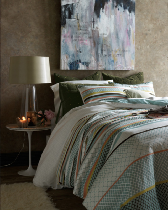 {Fall asleep dreaming of travel with the Argentina Collection.From:  Bliss Living. }