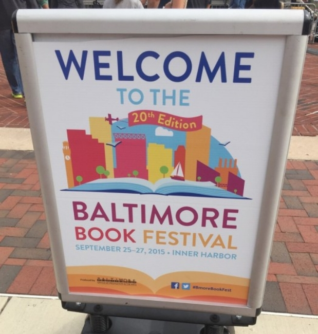 2015 Baltimore Book Festival Beekman Boys Inner Harbor