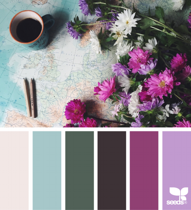 {A palette similar to the one inspired by my soapbox. From: Design Seeds.}
