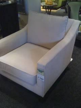 {Comfortable, stylish chair suitable for tv viewing and conversation. We'll take 2 please!}