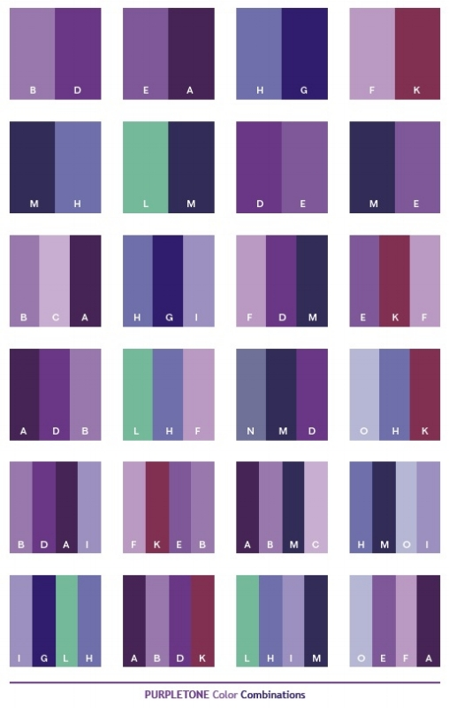Purple Color Palette Scheme Combinations Pairings April Force Pardoe Interiors