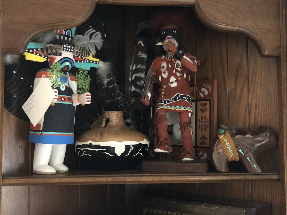 """{Debbie truly has a """"little bit of everything"""" as she likes to say, including Native American treasures.}"""