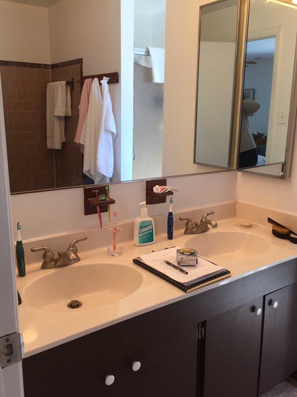Columbia Maryland Outdated 80s Bathroom Vanity Before Remodel – Designer Bestie April Force Pardoe Interiors.jpg