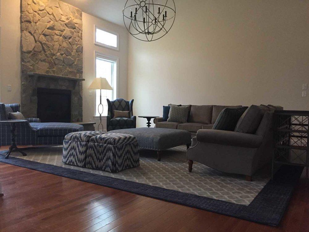Laurel Maryland Great Room Two Story Family Room Design Project Install 4 – Designer Bestie April Force Pardoe Interiors.jpg