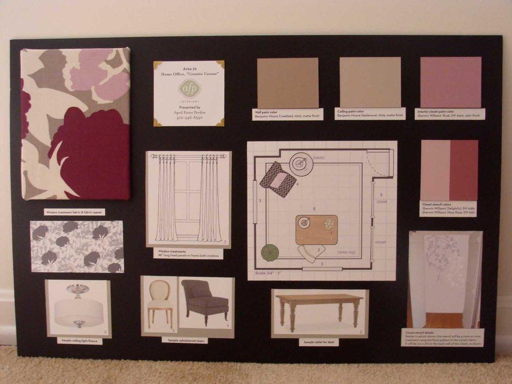 Howard County Ellicott City Decorator Show House Home Office Design Details Mood Board – Designer Bestie April Force Pardoe Interiors.jpg