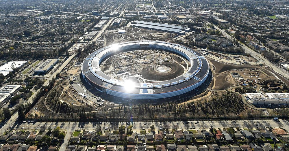 New Apple Campus, Cupertino, Silicon Valley