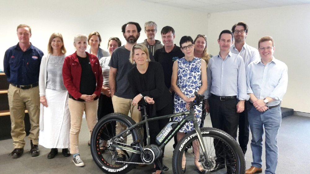 Participants in the 2017 Innovation Master Class, held at the Noosa Boardroom.
