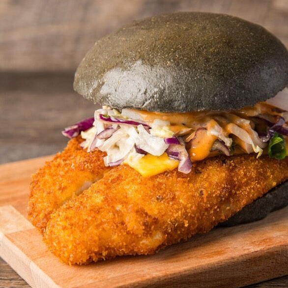 Finding Dory? Well, cut the chase guys, we found Dory and you'll love this. Crispy Breaded Dory topped with Sesame Slaw, Cheese and our secret B sauce - Friend or Food, you decide!