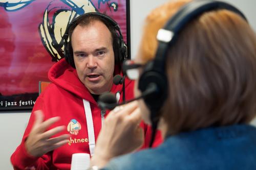 Kuvattu heinäkuussa 2016 Radio Porin studiossa.