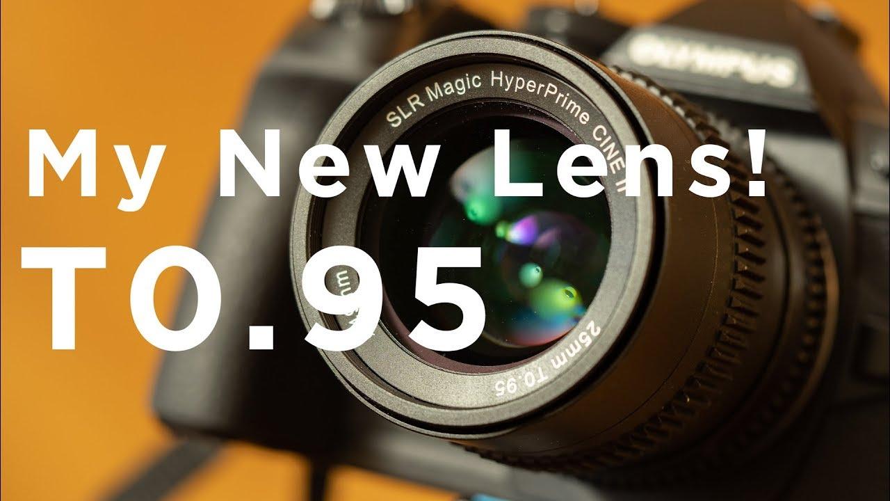 SLR Magic HyperPrime Cine 25mm T0.95