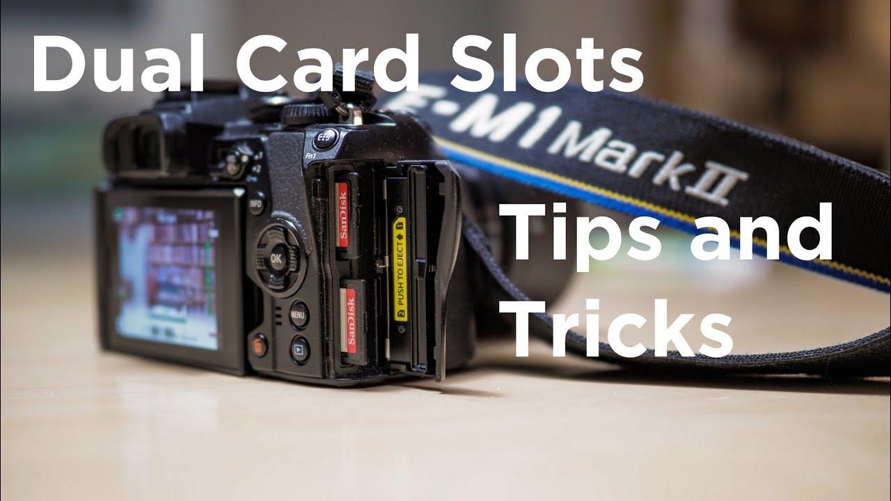 Dual Card Slots - Olympus OM-D E-M1 MkII