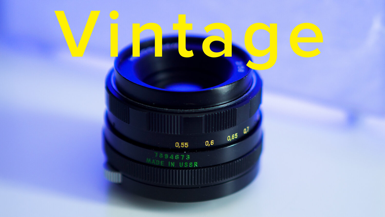 Vintage lenses on Olympus cameras.
