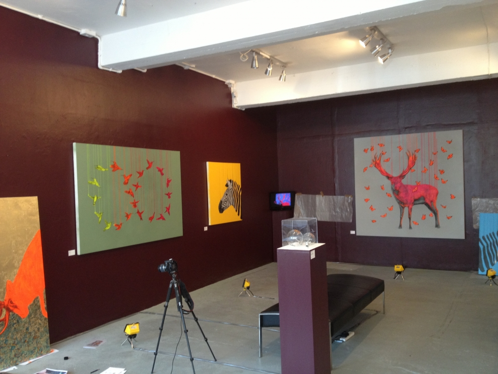 Jessica ballantyne artist, Louise McNaught exhibition