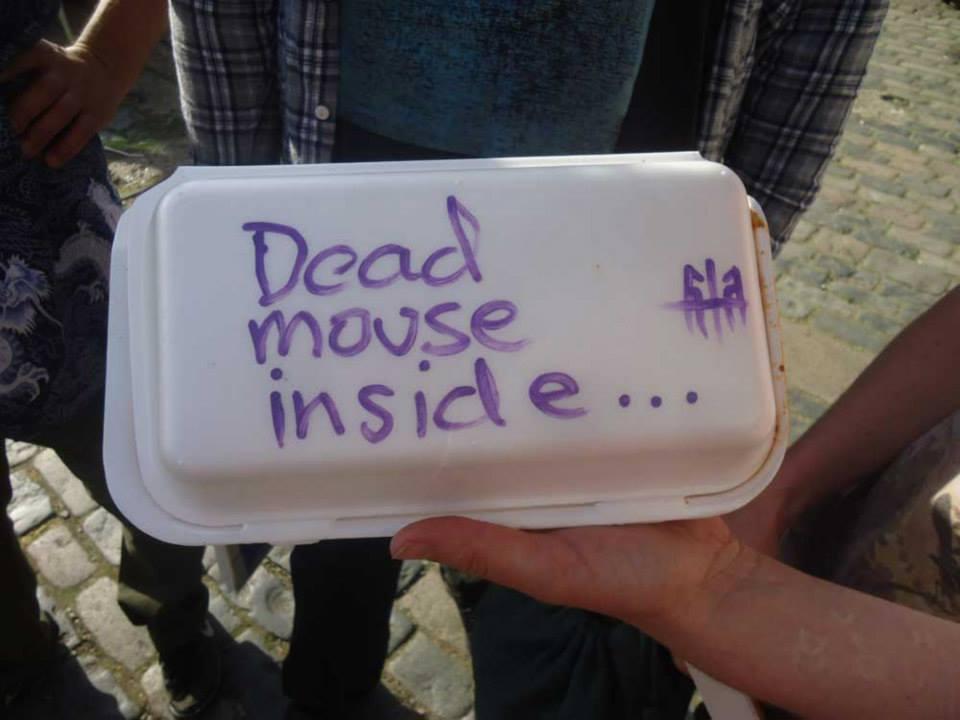 616, graffiti artist, art car boot fair, london, food vandal