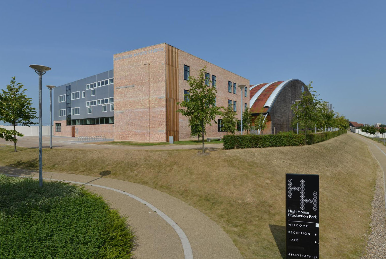 high house, artist studios, production park