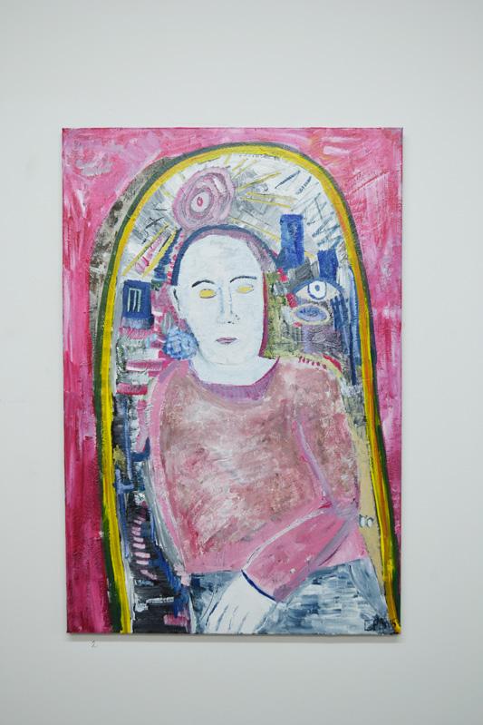 Chris Paul Godber, the tunnel, exhibition, art, fine art, portrait, london, metamorphosis, franz kafka