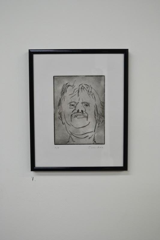 Julie Ann, portrait, oil painting, the tunnel, exhibition, art, fine art, portrait, london, metamorphosis, franz kafka