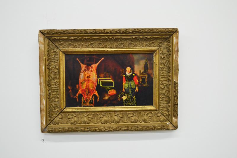 Jamie Stanton, portrait, oil painting, the tunnel, exhibition, art, fine art, portrait, london, metamorphosis, franz kafka