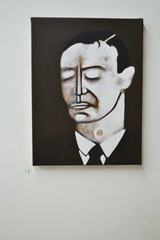 Mathew Tudor, portrait, oil painting, the tunnel, exhibition, art, fine art, portrait, london, metamorphosis, franz kafka
