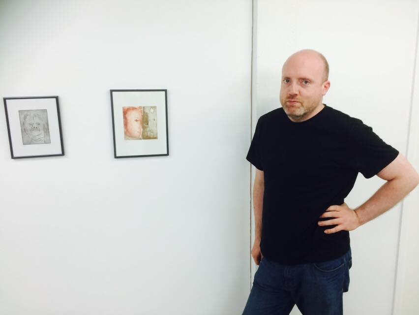 mathew tudor, artist, Julie ann, exhibition, london, the tunnel, metamorphosis, franz kafka, inspiration for artists,