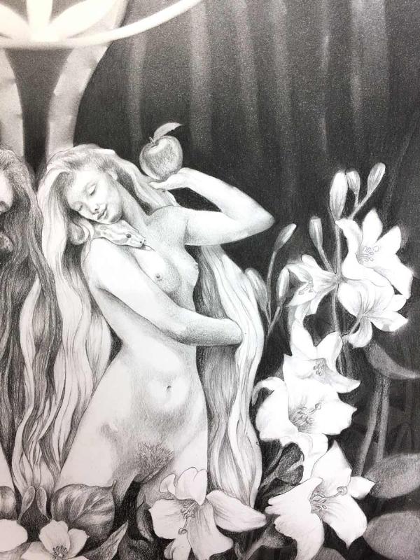 Jessica-ballantyne_Sacred-Nude_Eve's-Garden_Lilith_garden-of-Eden_close-up.jpg