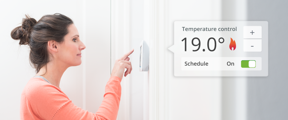 Get comfortable - With Toon's thermostat function, Toon welcomes you into a warm and comfortable home. Set the temperature manually or use Toon's smart programming functions: Away, Home, Comfort and Sleep. Create your schedule based on your weekly routine. Want to feel snug at night? Or nippy in the morning? You decide.