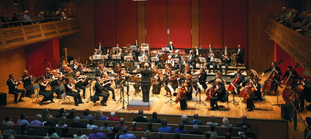 Conducting Suffolk Philharmonic at The Apex, Bury St Edmunds