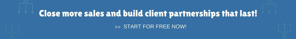 Free CRM system - Sign Up