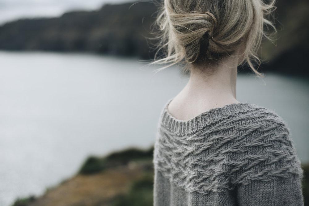 Pattern: Little Twigs  Designer: Melody Hoffmann  Yarn: BFL/ Masham DK Singles