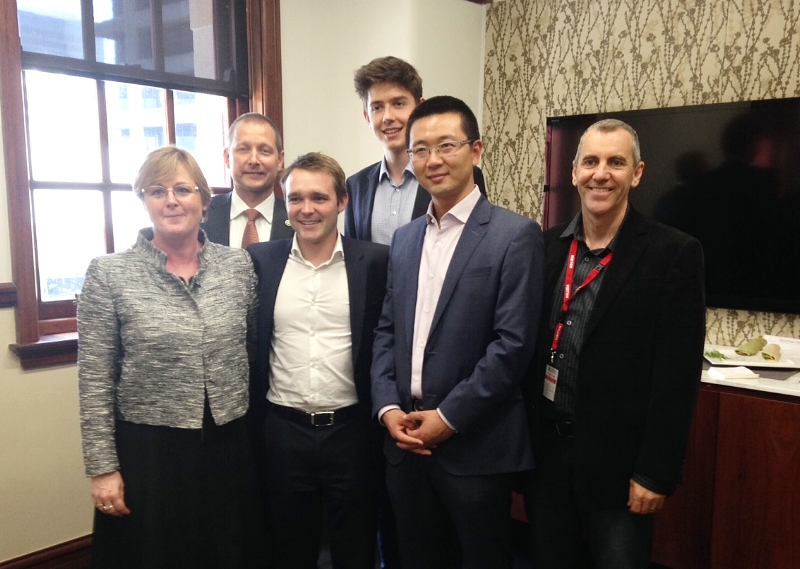 MP Wyatt Roy, Senator Linda at UWA Dec 2015.JPG