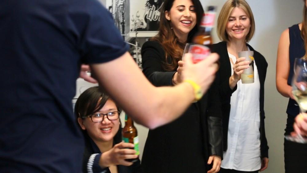 Lain Duong (Gritcenter), Rachel Stein (FitJak), Naomi Rossdeutscher (Cinesurfer)