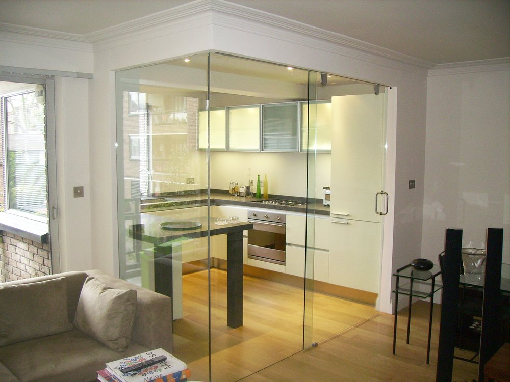 Glass Door - SW5 - London - Brompton Glass 1.JPG