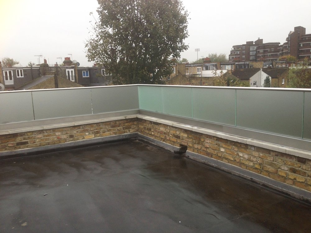 External Glass Balustrade - SW5 - London - Brompton Glass 2.JPG