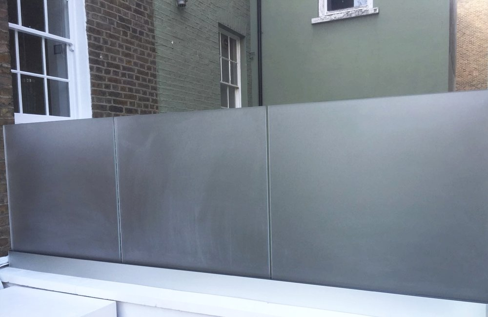 External Glass Balustrade - SW5 - London - Brompton Glass 3.JPG