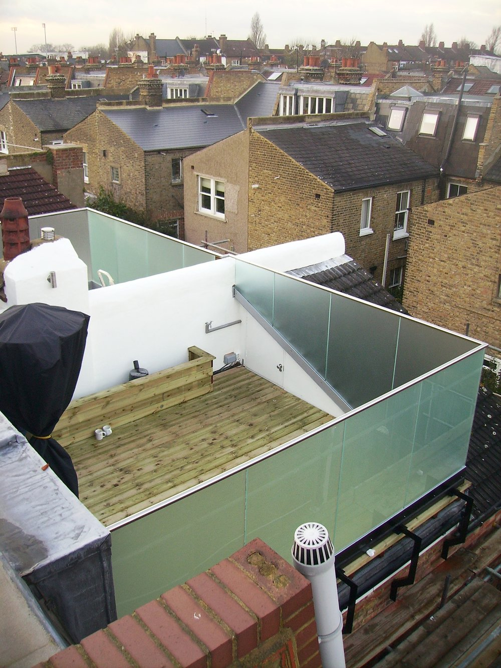 External Glass Balustrade - SW5 - London - Brompton Glass 5.JPG