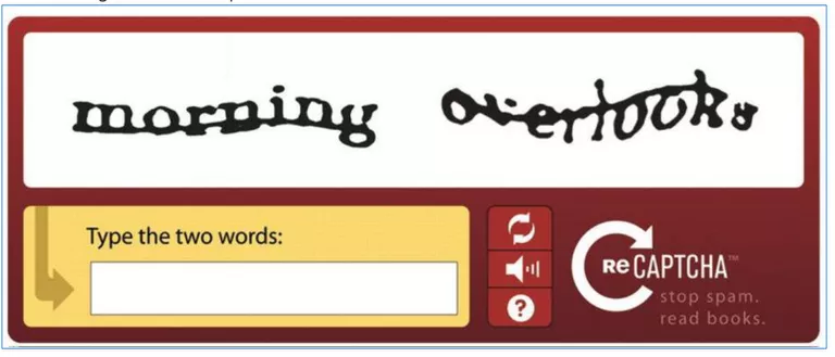 The introduction of reCAPTCHA with audio functionality.