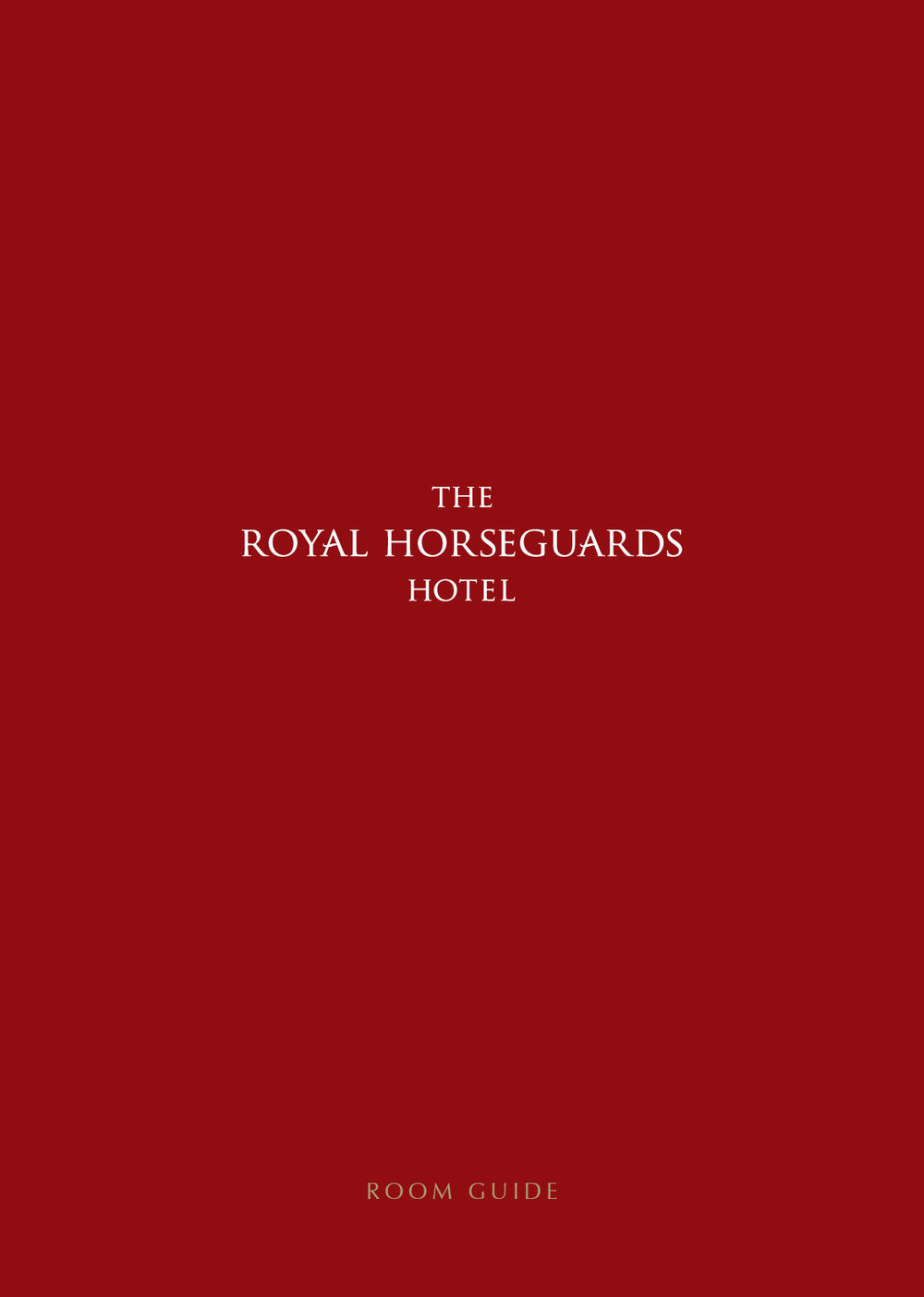 The Royal Horseguards Cover.jpg