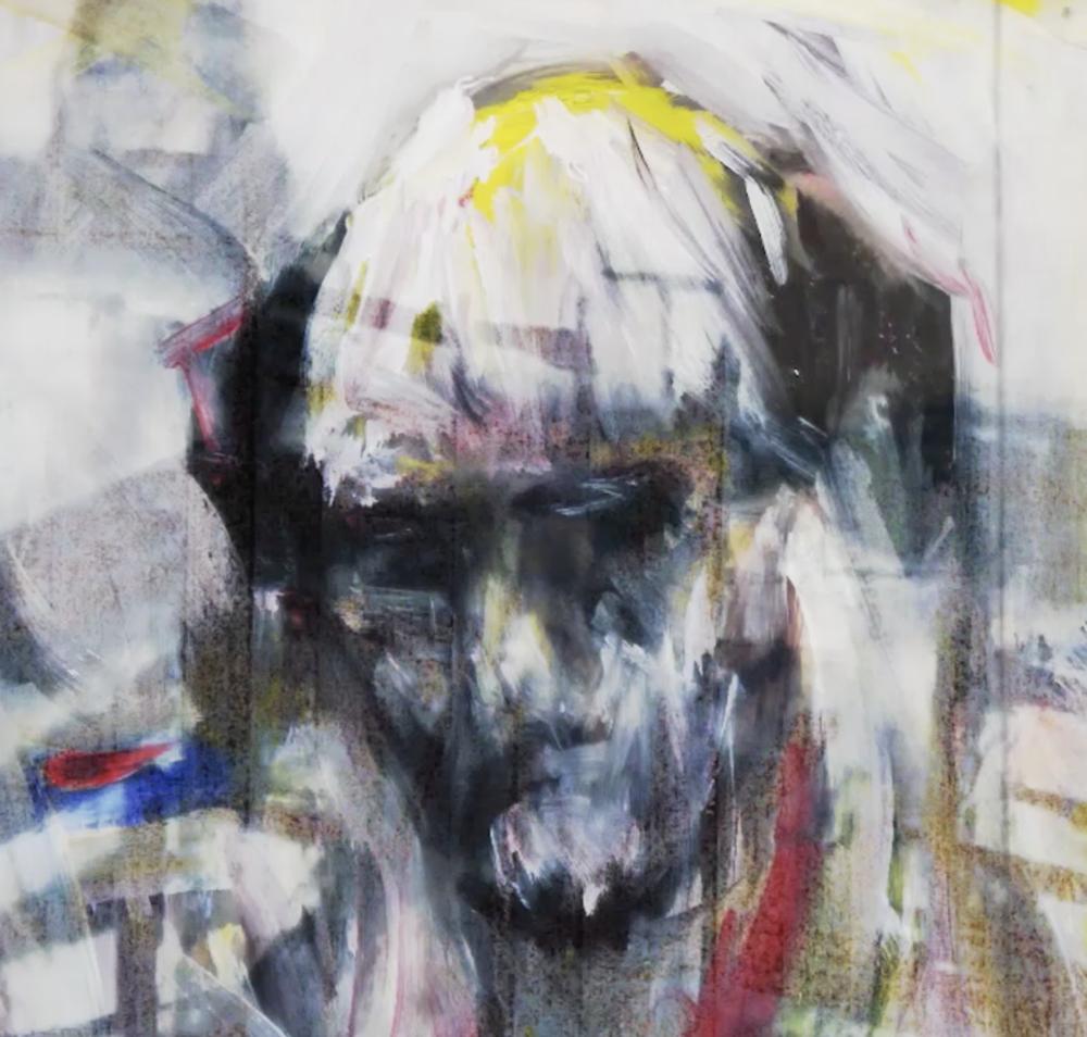 Oscar Lewis Bomberg Portrait