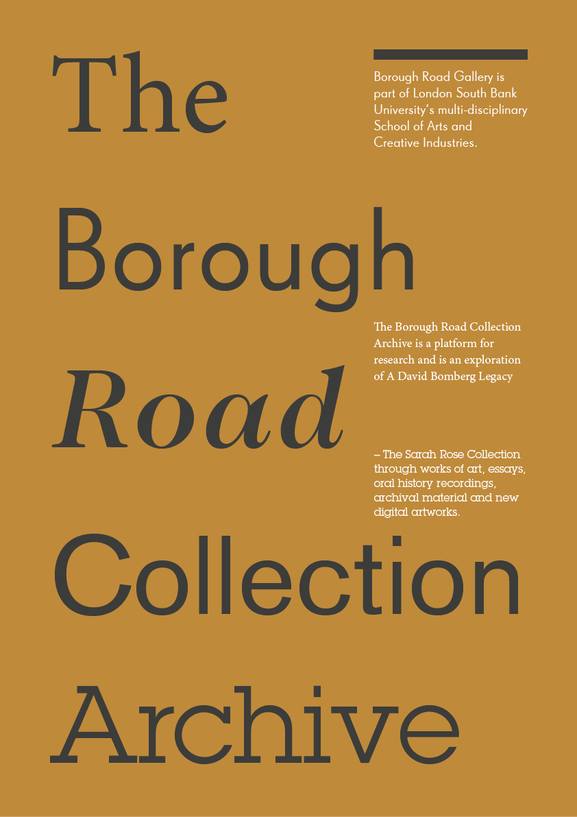 Borough Road Archive Poster by Christian Corless.jpg