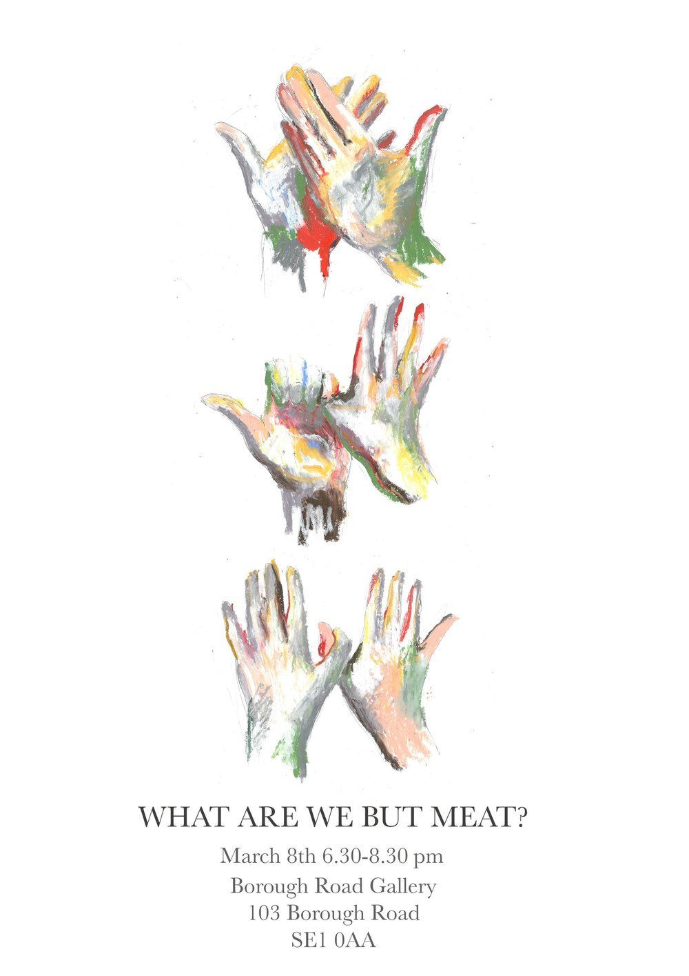 What are we but meat