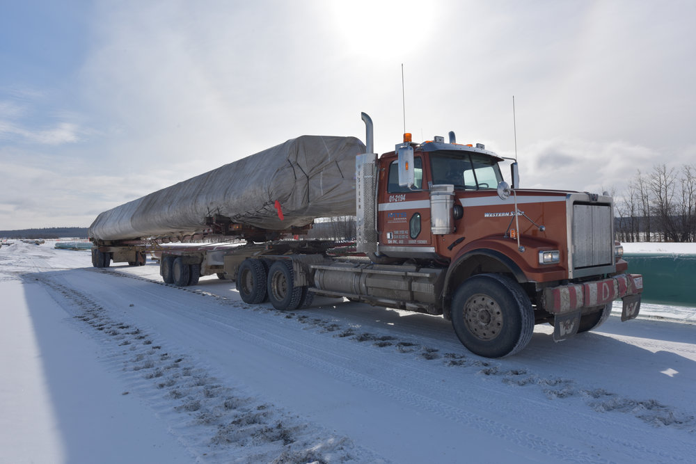- Difficult terrain and extreme weather conditions are not a problem for our equipment. Our trucks are designed to move effectively on and off the highway and on any type of terrain. Also, we only utilize tri-axle trailers to maximize payload capacity.