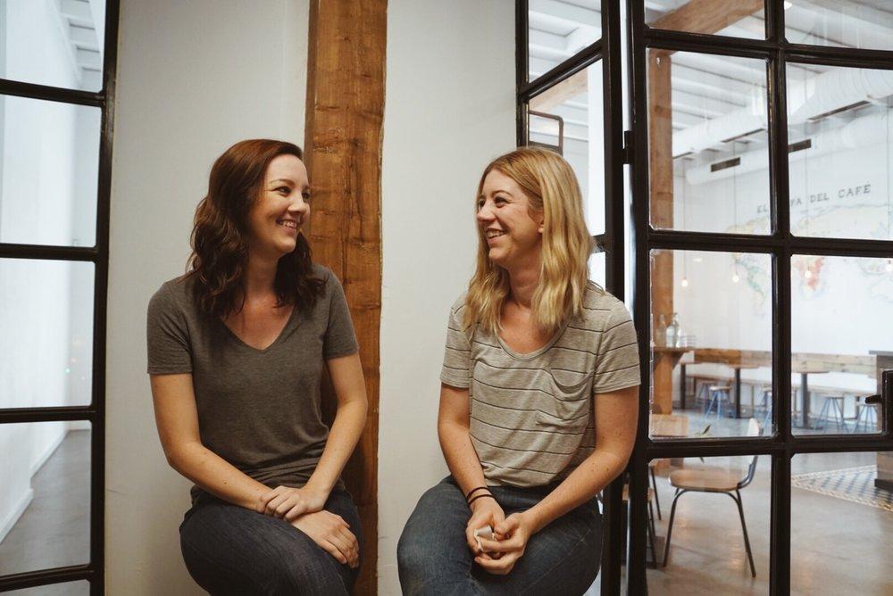 Somos… - Sara y Victoria Parish, hermanas nacidas en Guatemala. Propietarias de Torch Coffee Roasters Sevilla.