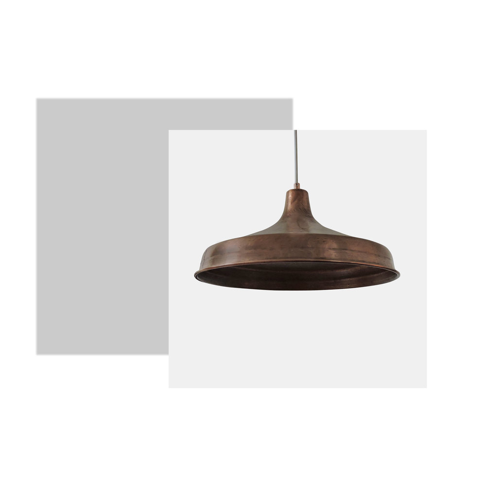 How gorgeous is this Danish hammered copper pendant light from the 1950s? I can see this is the kitchen or hanging over the dining table. The light is effortless but screams statement. This piece could change your space completely.The colour and texture of the light draws you eyes in, giving the room a new feel and warmth.