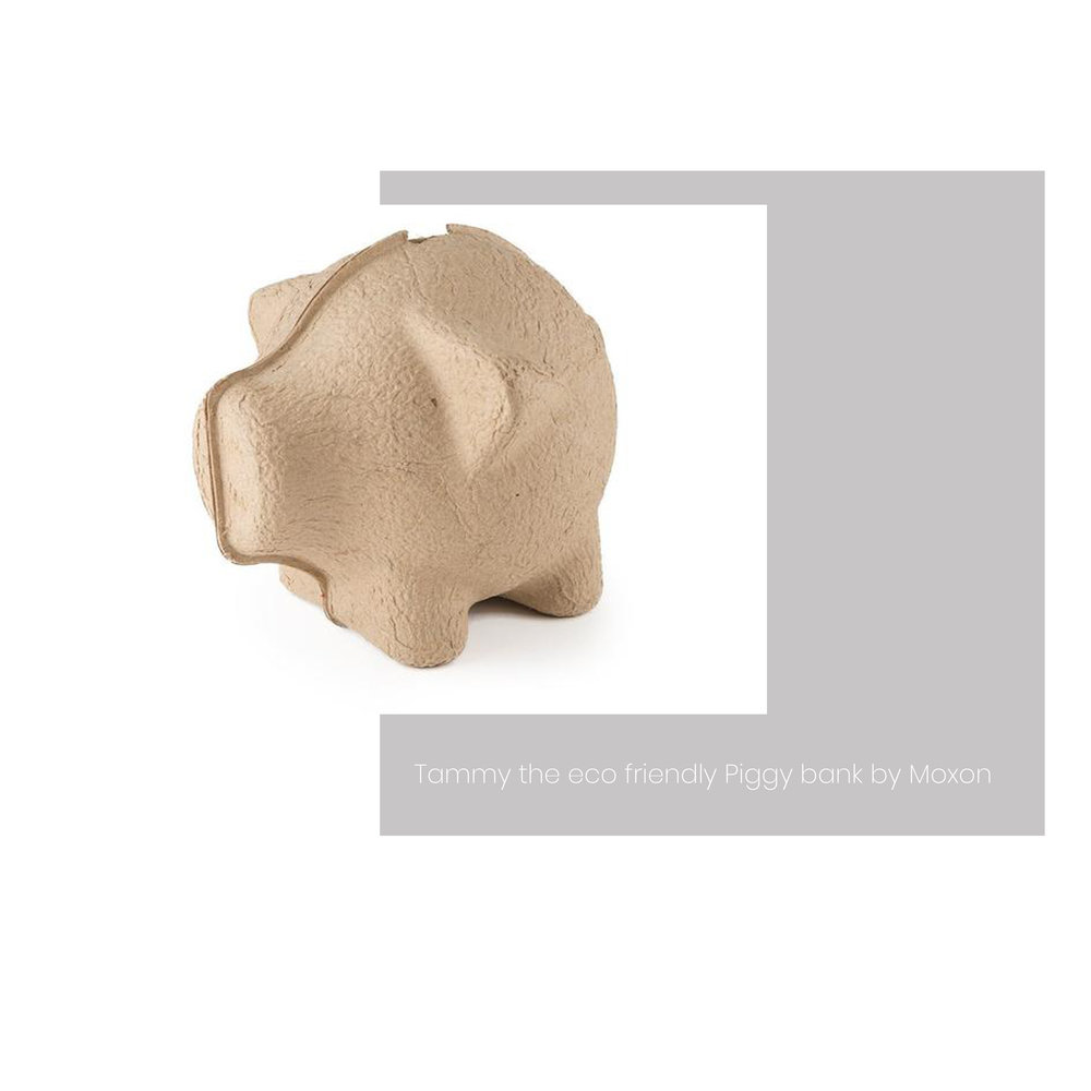 For your eco warrior friend or the big saver! This eco-friendly stylish and quirky piggy bank is produced from sustainable paper pulp. The money box can be safely ripped apart before recycling. Perfect!  Shop here.