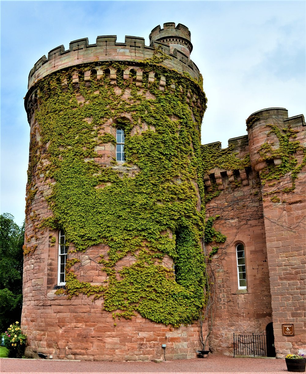The Drum Tower at Dalhousie Castle dates back to the 15th Century - -The Rural Travel Guide