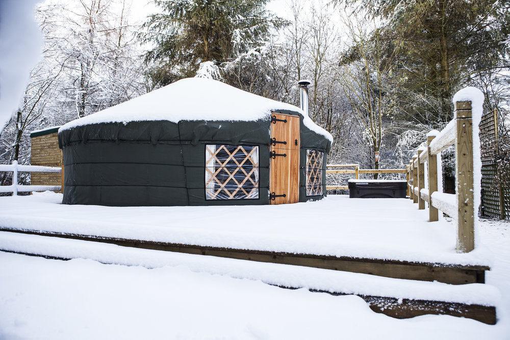 Yurts at Uppergate Farm - - Premier Cottages