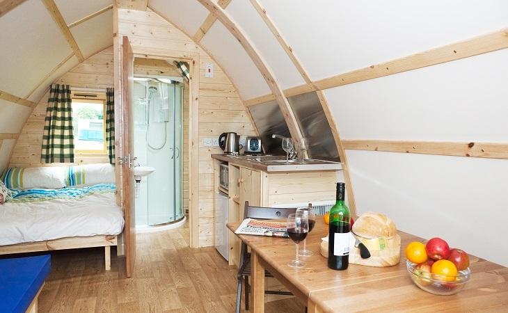 Wigwam Cabin interior - - Wigwam Holidays