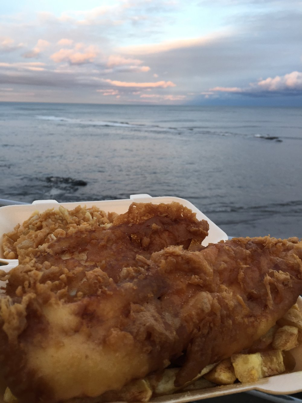 Best fish and chips ever! - - The Rural Travel Guide