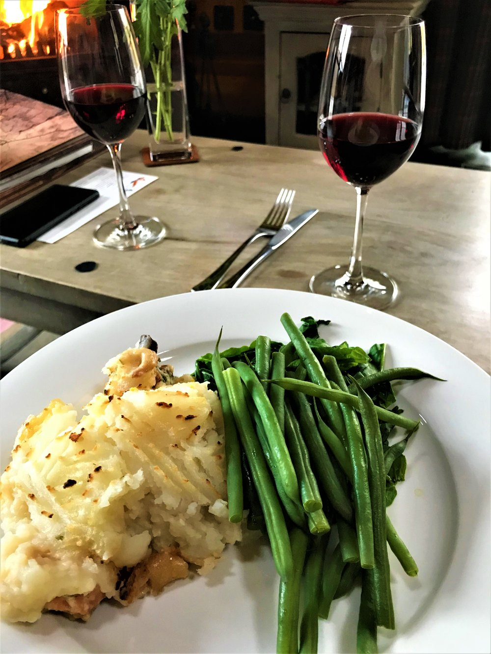 Mike's fish pie - - The Rural Travel Guide